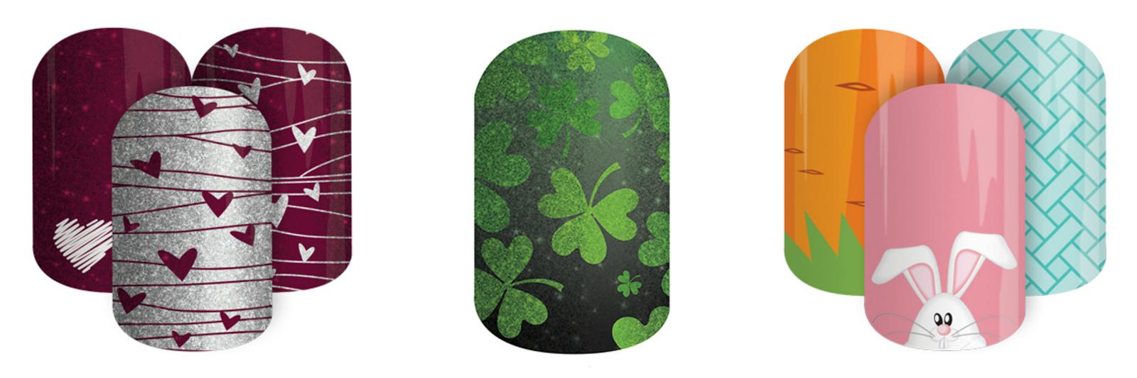 Jamberry nails seasonal designs