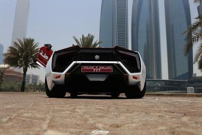Lykan Hypersport Mobil Polisi Paling Mahal di Dunia