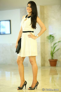 Kratee Stills At Best Actors Movie Pressmeet