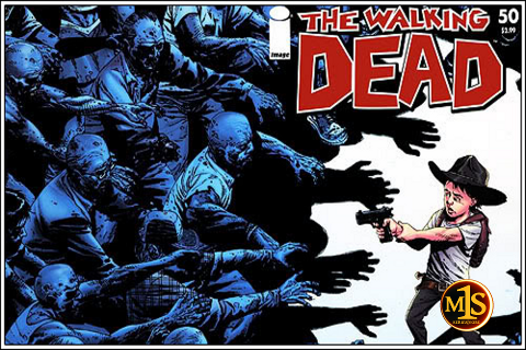 segunda temporada the walking dead promo comic