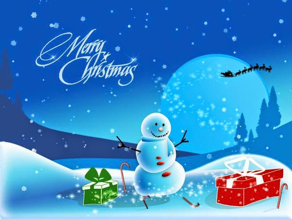 Merry Christmas. #MerryChristmas #Christmas #snowman #gifts