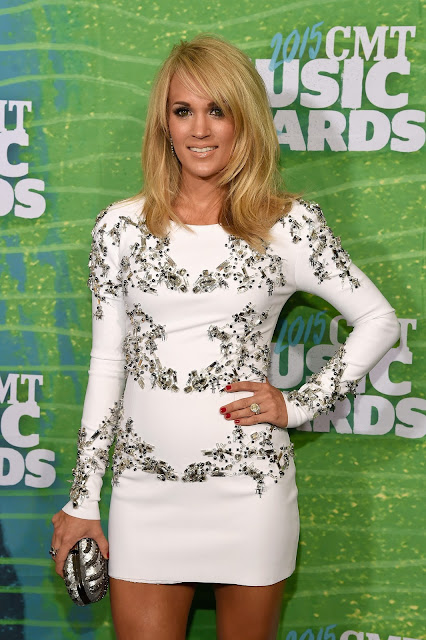 Singer, Actress @ Carrie Underwood - 2015 CMT Music Awards in Nashville