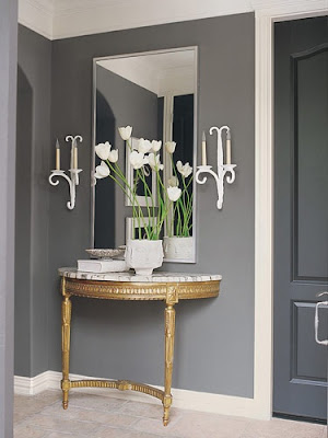 Foyer Decorating Entryway Console Tables