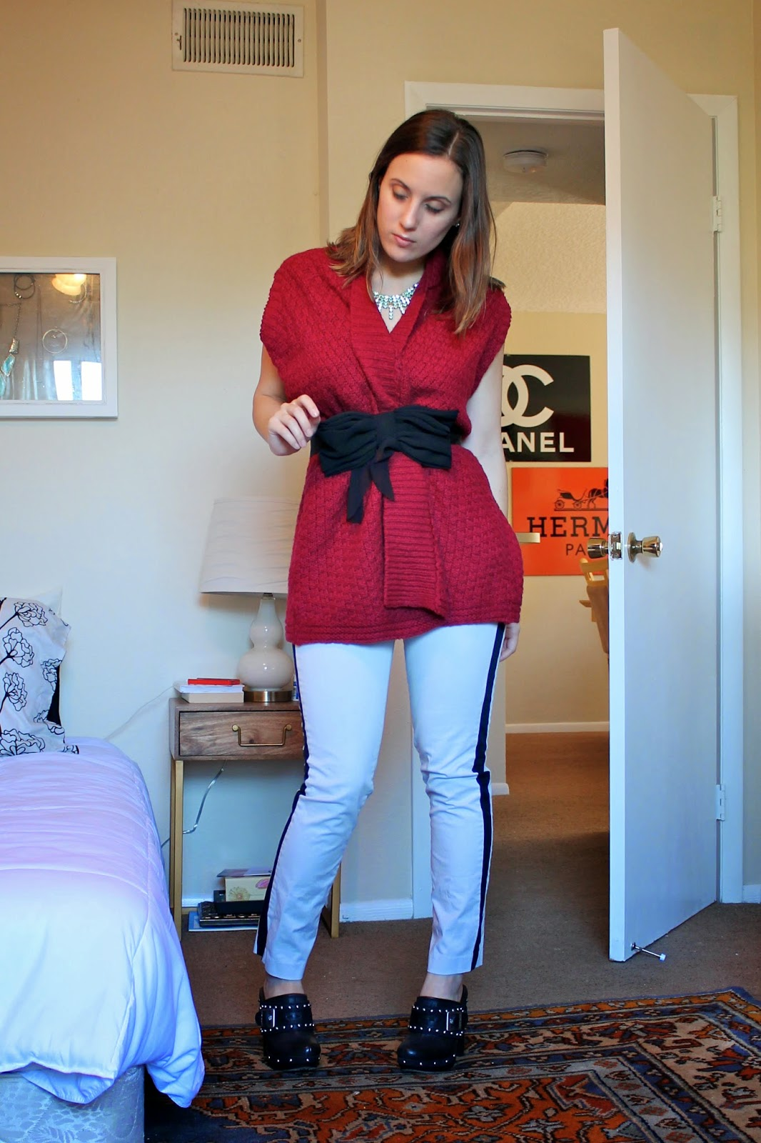 holiday outfits, what i wore, fashion blog, style blog, outfit ideas, what to wear, LOFT, J. Crew, vince camuto, forever 21, Betsey Johnson, nordstrom