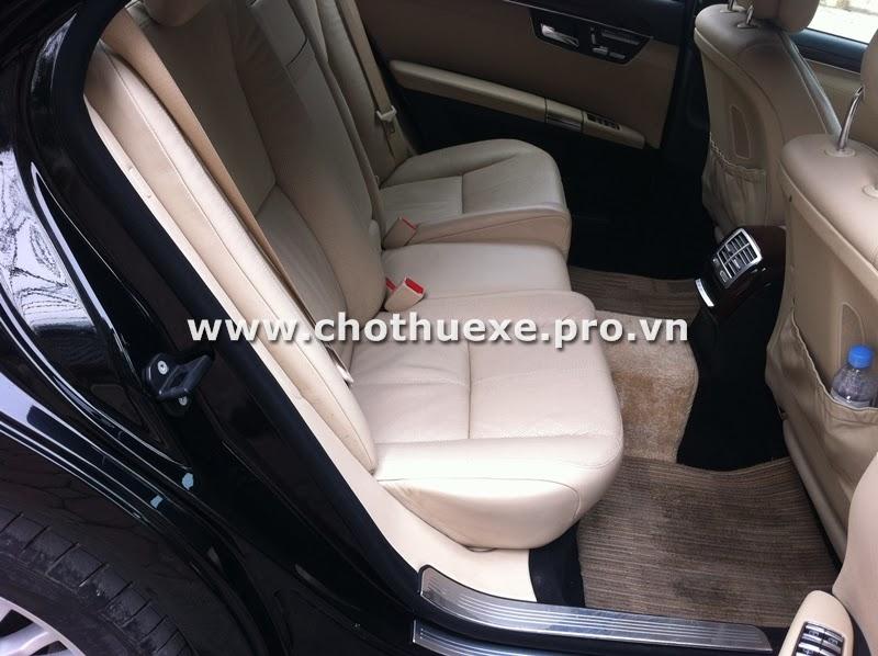Cho thuê xe cưới Mercedes S550 Vip tại Hà Nội 2