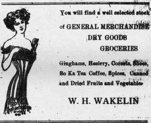 W. H. Wakelin 1917 Ad