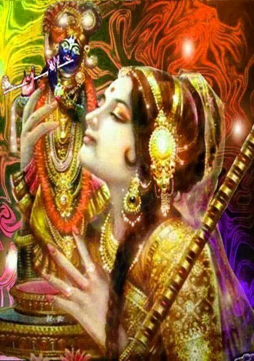 meera - krishna wallpaper