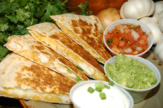 The Way to the Kitchen: Quesadillas