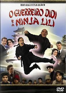 capa Download – O Guerreiro Didi e a Ninja Lili – DVDRip AVI Nacional