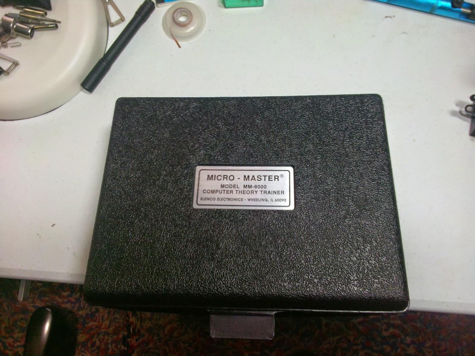 Elenco MM-8000 Micro-Master Computer Theory Trainer