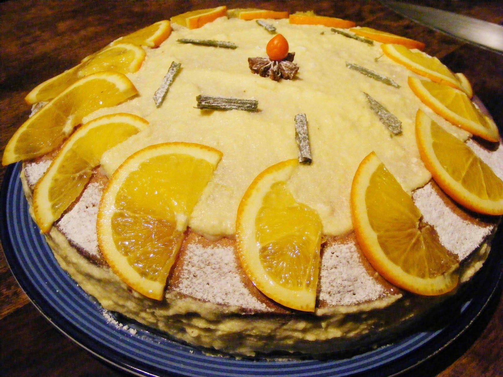 Almond,Orange and Olive Oil Cake Recipe