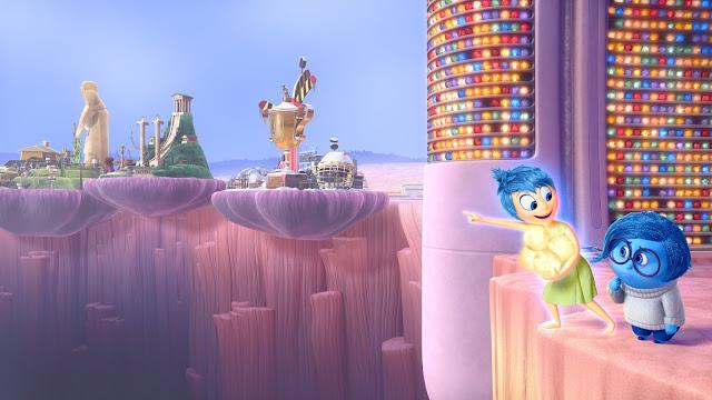 Cena da animação da Pixar, Divertida Mente