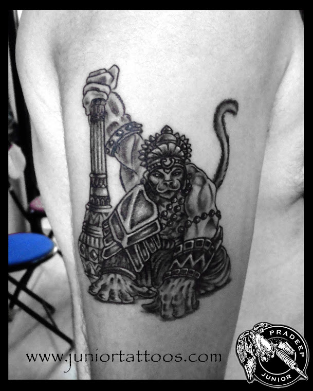 Lord Hanumaan Tattoo