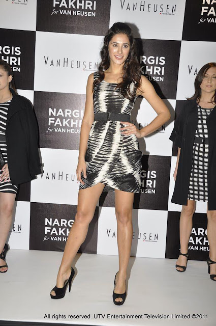 Nargis Fakhri Van Heusen's Latest Brand Ambassador Photo Shoot Images