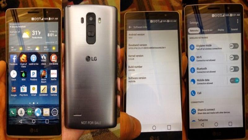Bocoran Foto Tampilkan LG G4 dengan Stylus