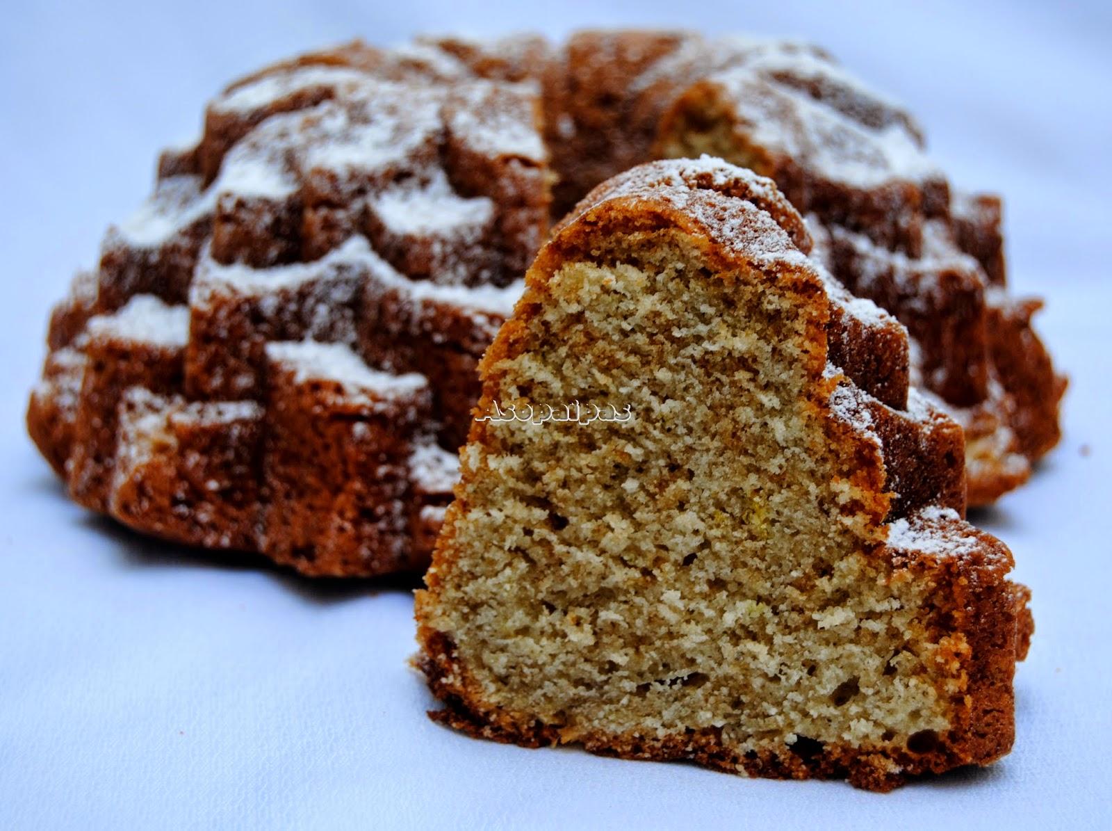 Bundt Cake de Lavanda y Limón