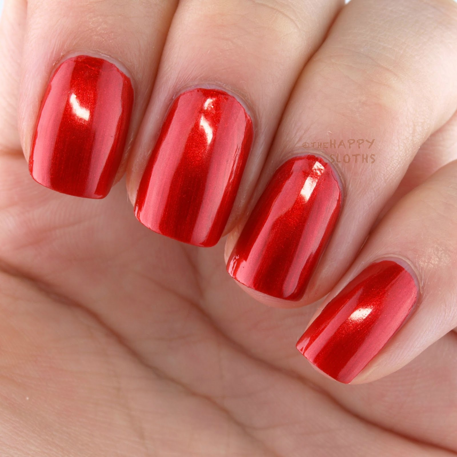 Nicole OPI Always A Classic Coca Cola Swatches