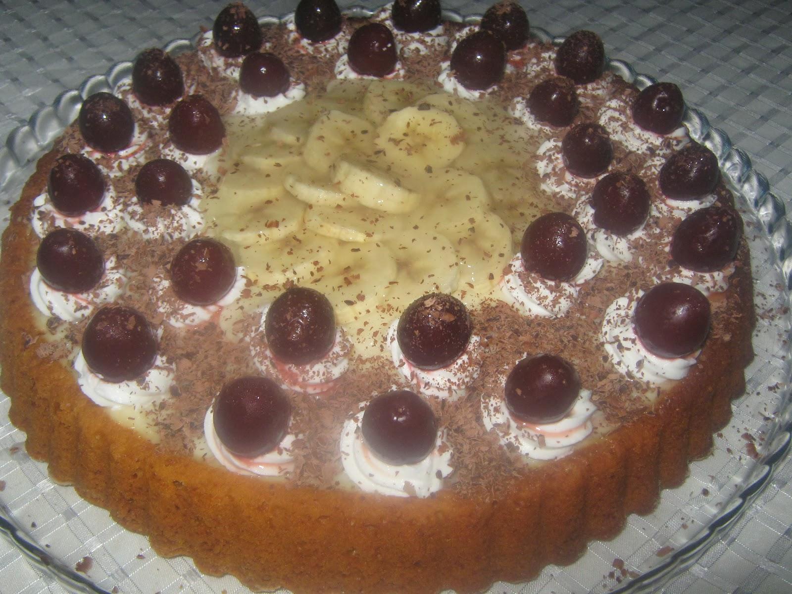 tart kalıbında yaş pasta