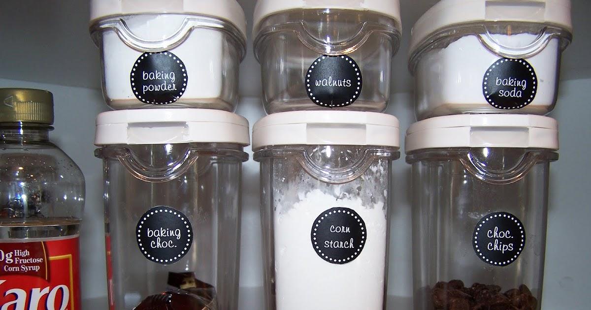 Delightful Order Organizing the Baking Cabinet