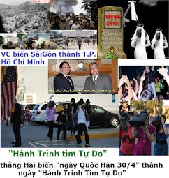 """• họ Ngô đã biến ngày """"Quốc Hận 30 tháng 4"""" thành ngày """"Hành Trình Tìm Tự do"""""""