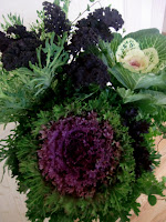 Kale arrangement by Willow & Bloom   Photo by Patricia Stimac