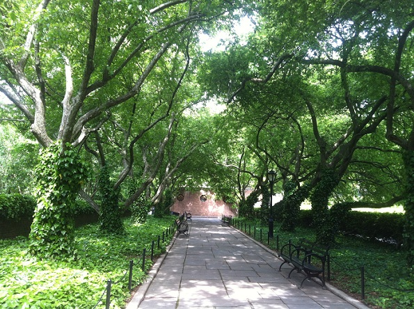 Conservatory Garden – en liten bit av paradiset i New York