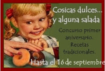 SORTEO EN COSICAS DULCES...Y ALGUNA SALADA