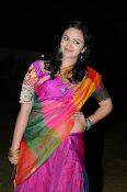 Malavika nair photos in half saree-thumbnail-12