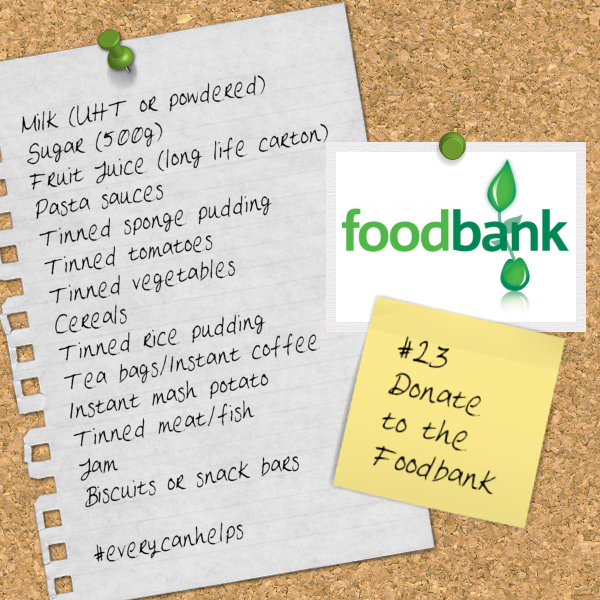 Donate to the Foodbank #EveryCanHelps
