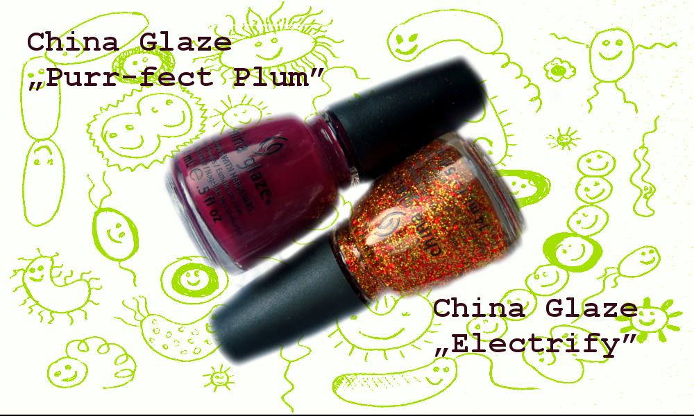 Lakiery China Glaze w duecie – perfekcyjnie i elektryzująco