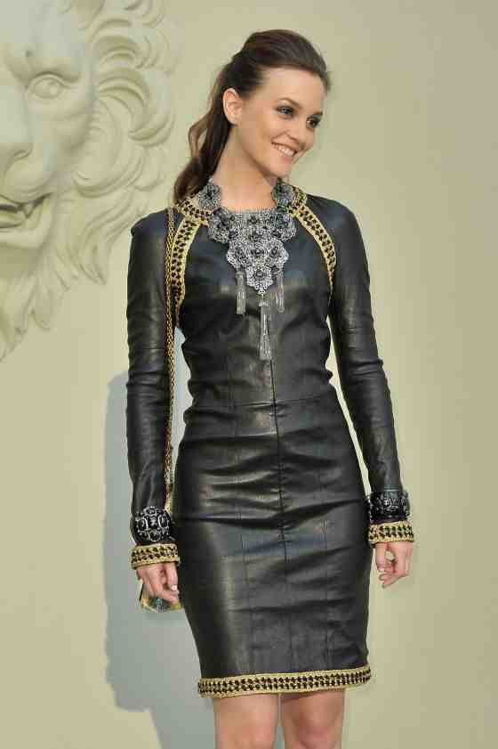Lovely Ladies In Leather Leighton Meester In Leather