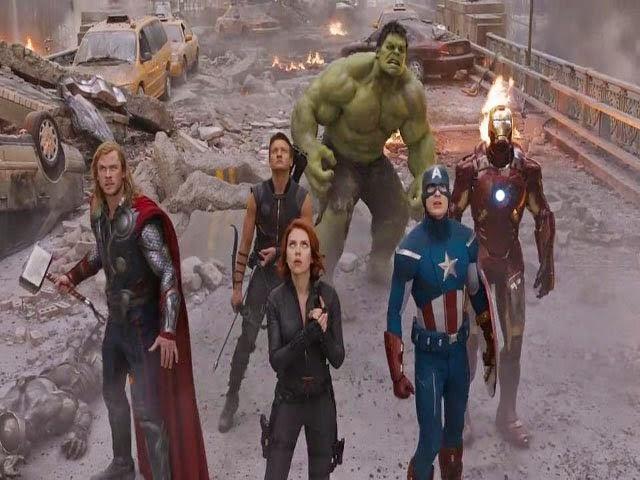Vuelven Los Vengadores a las pantallas de cine en abril