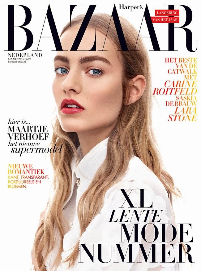 Model: Maartje Verhoef for Harper's Bazaar Netherland