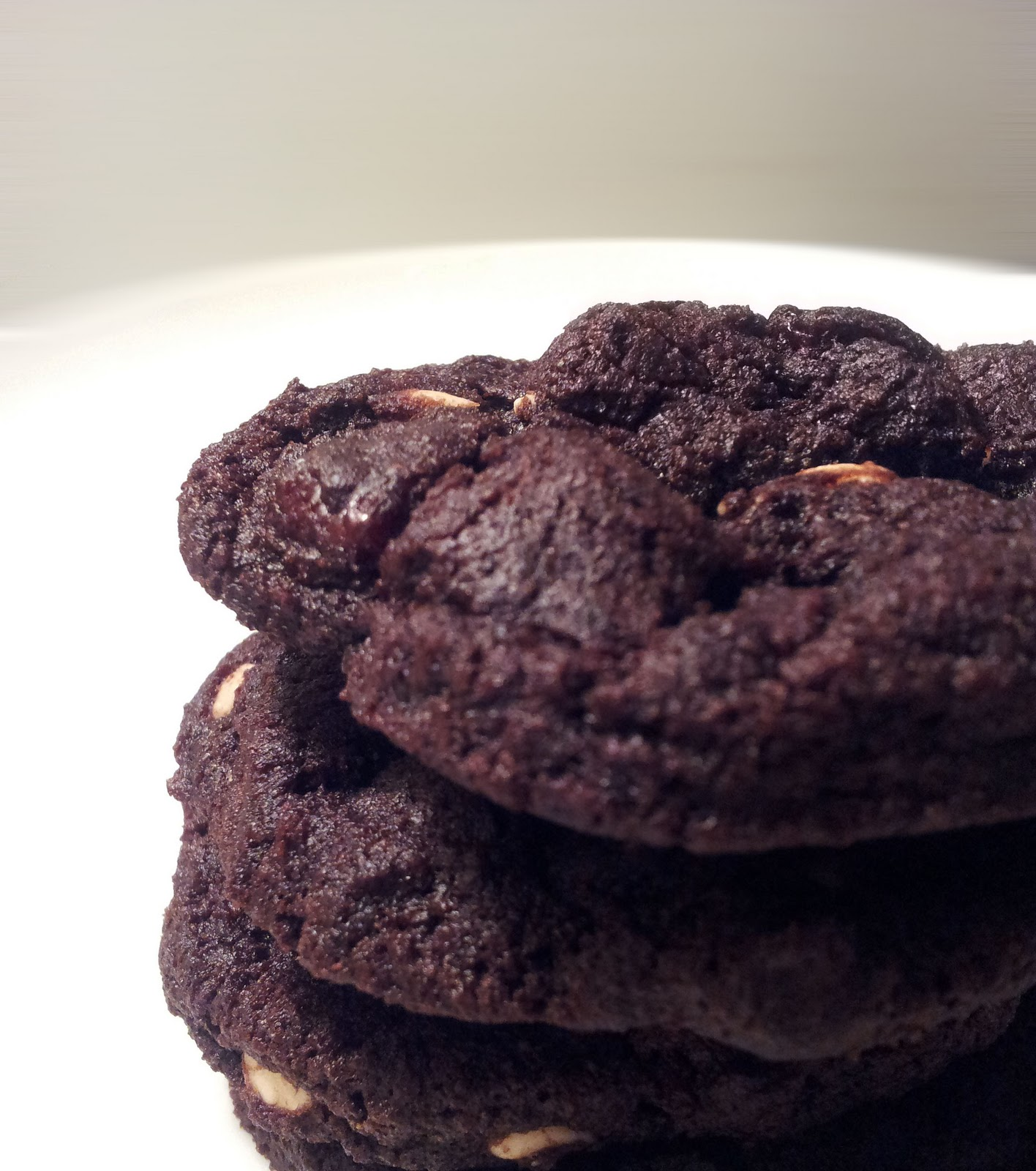 A Profound Hatred of Meat: Double Chocolate Cherry Cookies