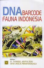 toko buku rahma: buku DNA BARCODE FAUNA INDONESIA, pengarang syamsul arifin zein, penerbit kencana
