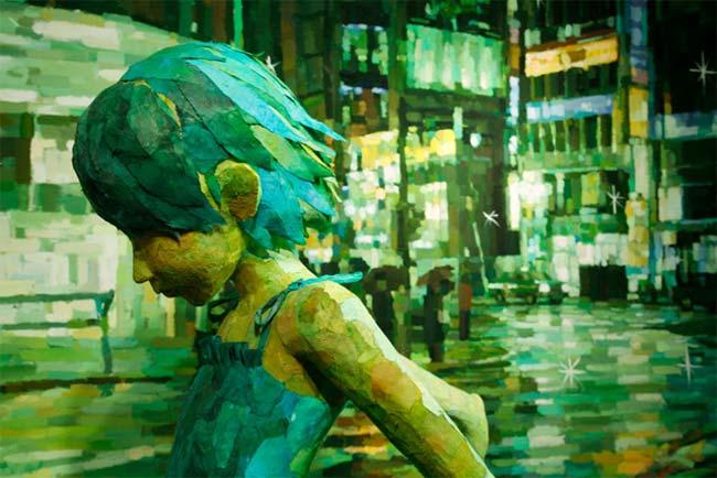 Shintaro Ohata, escultura, pintura, poliestireno