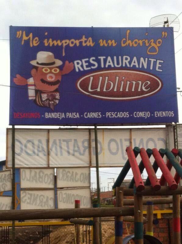 Restaurante Ublime