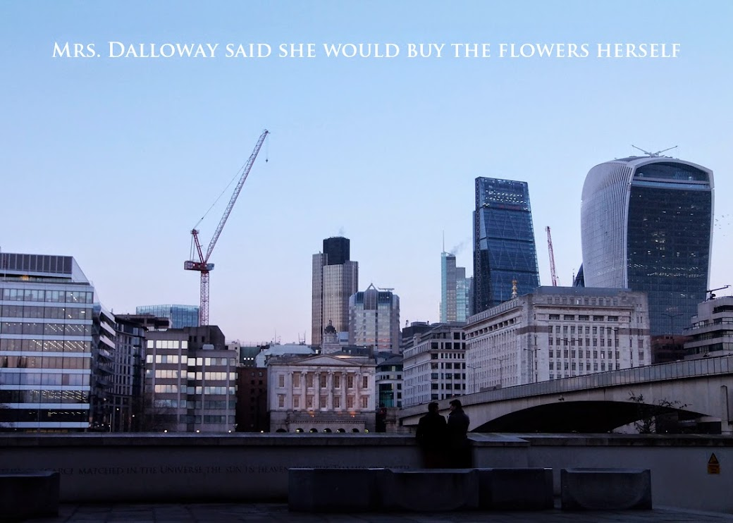 Mrs. Dalloway said she would buy the flowers herself