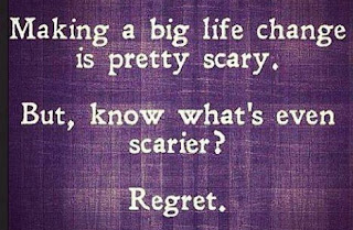 Making a big life change is pretty scary. But, know what's even scarier? Regret