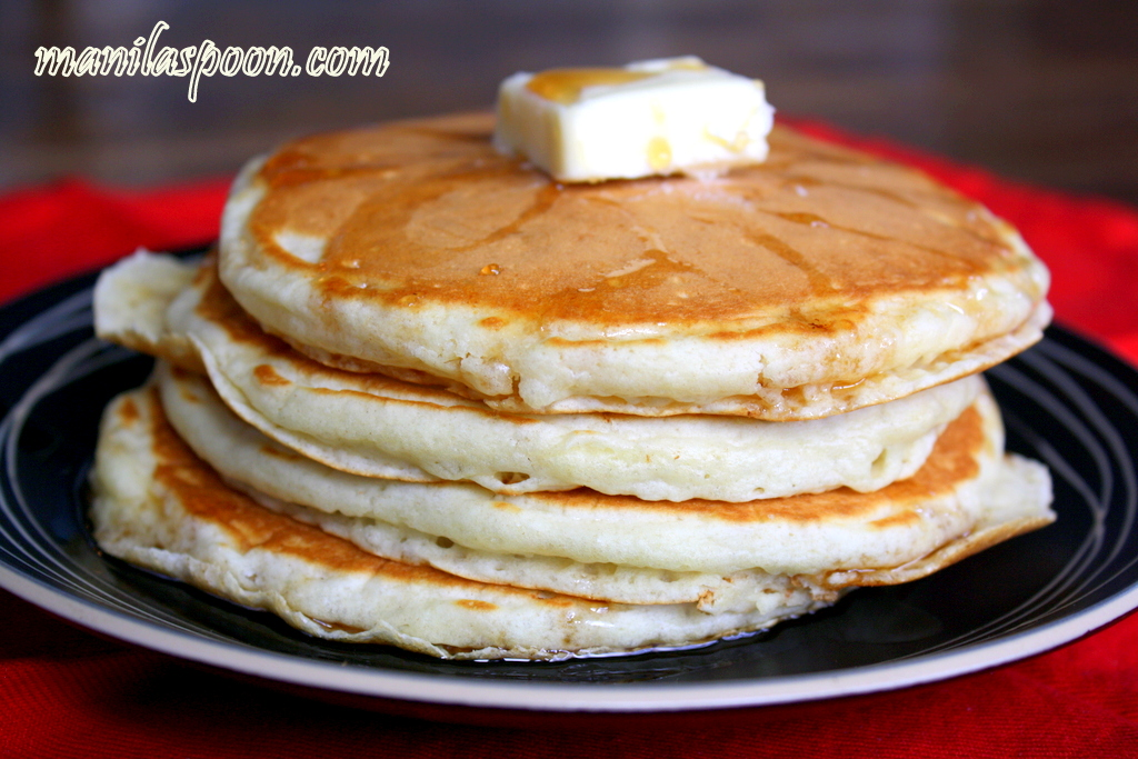 Manila Spoon: Easy Homemade Fluffy Pancakes