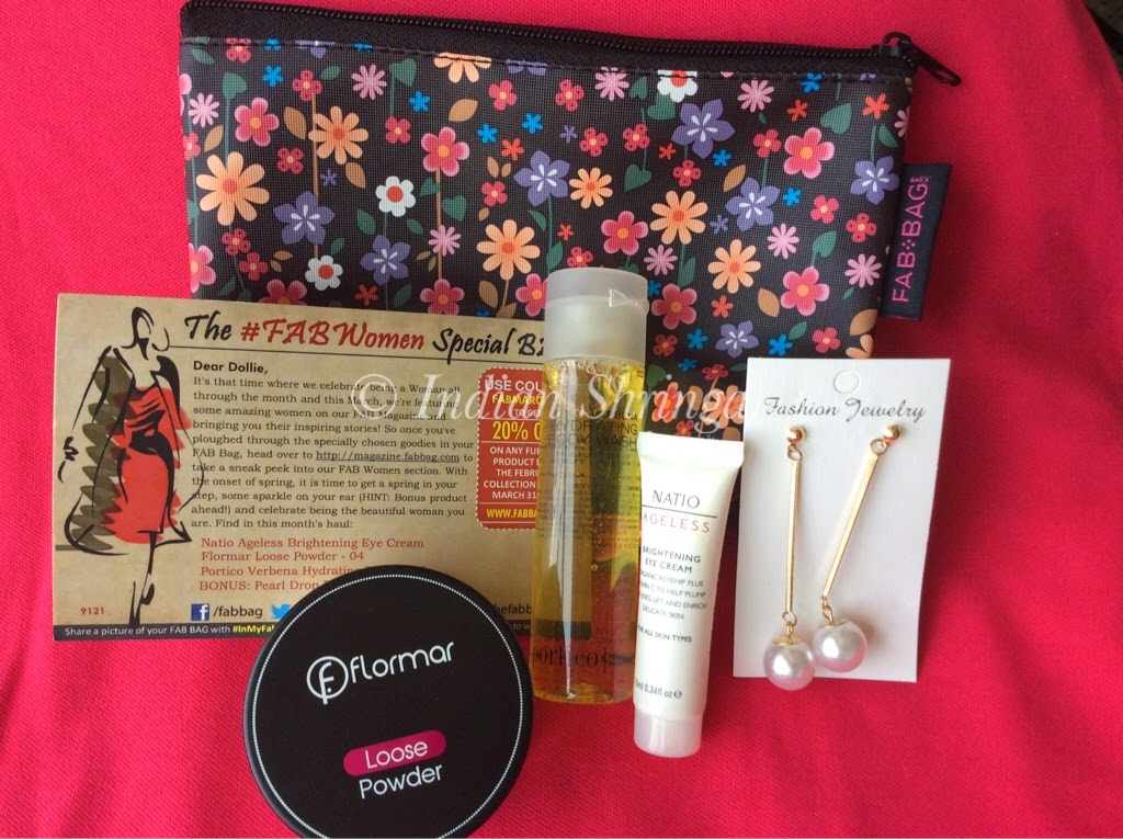 March 2014 Fabbag with Flormar, Natio and Portico