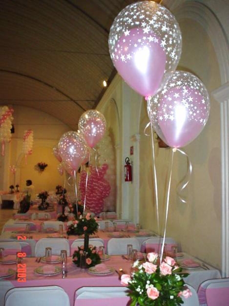 Centro de mesa globos con helio - Centros de mesa con globos ...