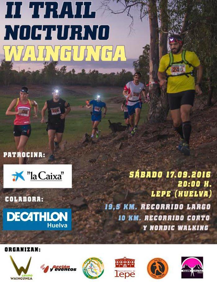 TRAIL NOCTURNO WAINGUNGA 2016