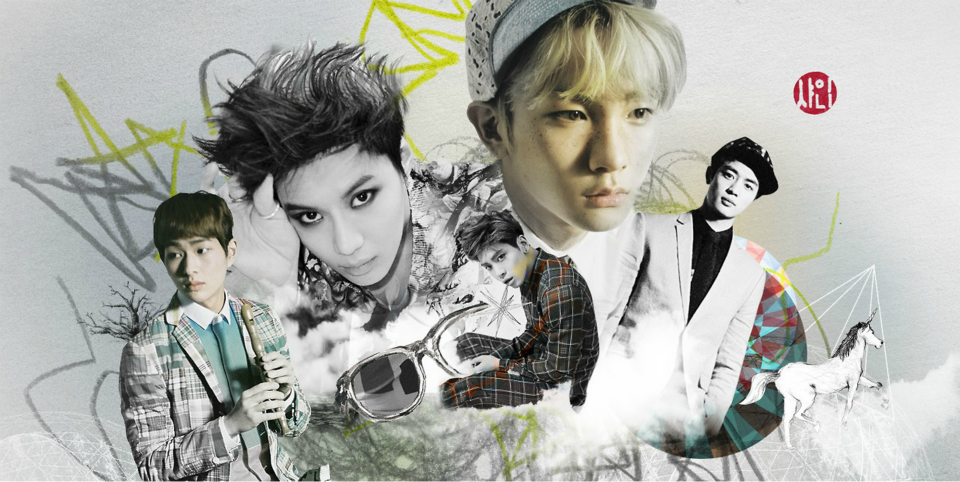 """Oddness/Weirdness: SHINee's Surreal """"Dream Girl"""" Photobook ... 