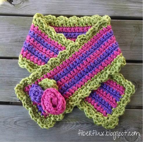 Fiber flux 24 easy to crochet gift scarves dt1010fo