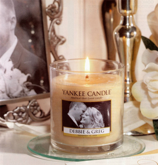 The Awesometastic Bridal Blog Personalized Yankee Candle