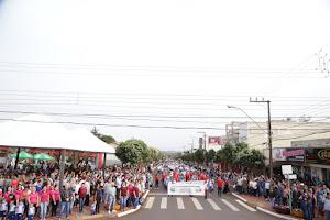Itaipulândia realiza desfile em comemoração ao Dia da Independência