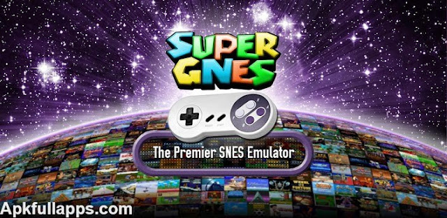 SuperGNES (SNES Emulator) v1.3.7