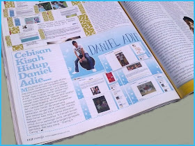 DANIEL ADIE dalam majalah REMAJA
