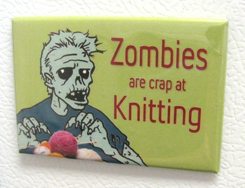 Knitting Zombies : Handmade by mother the zombies of summer